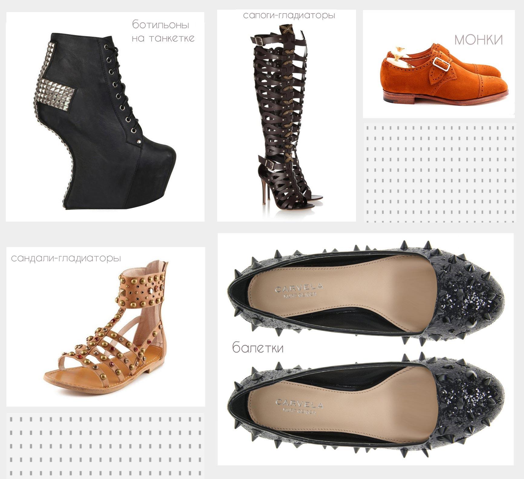 Энциклопедия женской обуви часть1