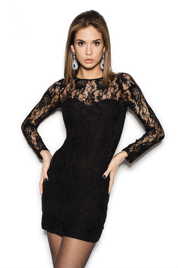 Купить Черное Платье На Новый Год